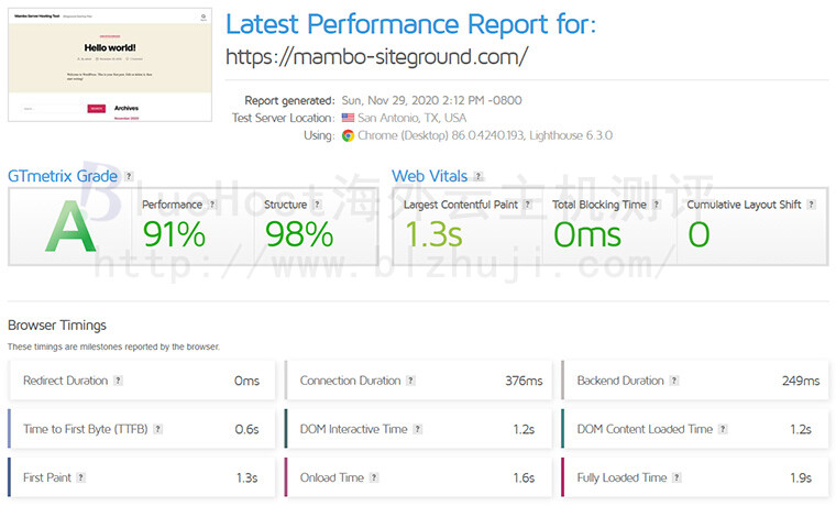 BlueHost和SiteGround对比评测