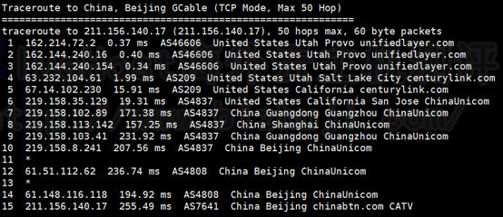 BlueHost美国服务器速度评测